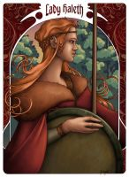 Lady Haleth by shyangell