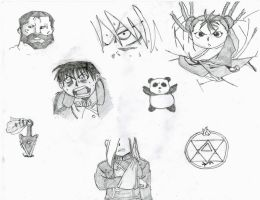 FMA Chapter Sketches by emememe
