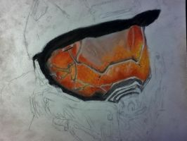 Master chief WIP again by poisonnova