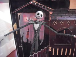 Skellington's House by VanDortLover