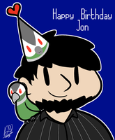 HAPPY BIRTHDAY JONTRON by DuckyDeathly