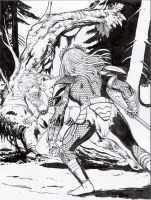 red sonja vs predator part 05 by amorimcomicart