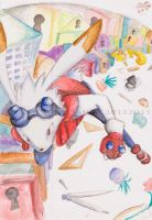 KING KAZMA chasing to the trap by sweetc