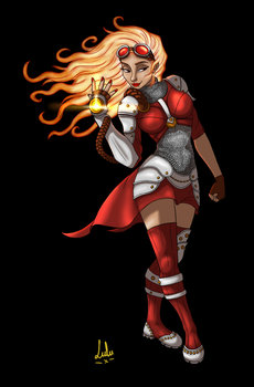 Chandra by lulustrations