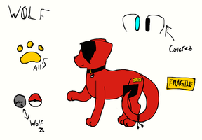 New Fursona Reference by ominousApocalypse