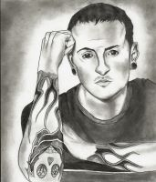 Chester Bennington by UnexpectedFantasy