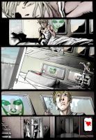 Comic Page Colouring 1 by mattheadface