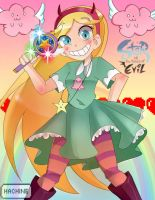 Star Butterfly by Hachine