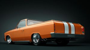 Chevy El-Camino 1966 studio r by RaMoNVicious