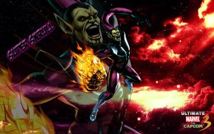 Super Skrull in Space by Corn102903