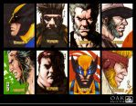 Marvel Sketch Card Wolverine by OAK-Art-Gallery
