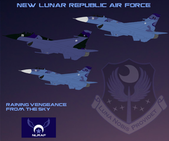 New Lunar Republic Air Force poster by lonewolf3878
