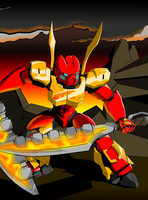 Toa Tahu 2015 by Disturbulator