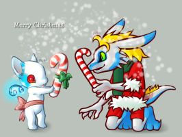 Merry Snow to Airu by GlassWind