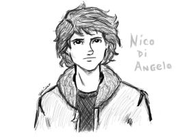 Nico Di Angelo by odairwho
