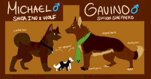Michael and Gavino reference by kaIista