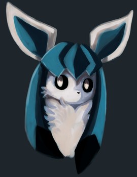 Glaceon by ShadNoir