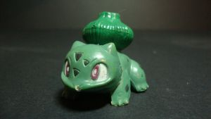 Pokemon - green Bulbasaur figure by stopmotionOSkun
