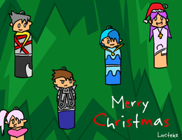 Christmas Tree Decorations by Luctekz
