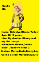 Bio Goldie by Marcelina32012