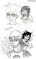 homestuck redraw by zombiose