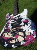 Guitar Closeup by TheDecadentDecline