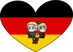 Germany Shimeji Heart by LadyAxis