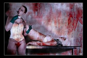 Bloody nurse by Misericordieuse