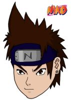 Me Naruto style color by niko91