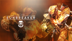 Destiny the Game - Sunbreaker Wallpaper by OverwatchGraphics