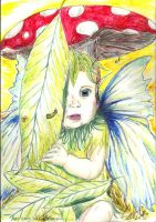 Peek-a-boo Willow faery by Willowsmummy