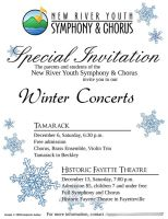 Winter Concert Invitation 2008 by artislight