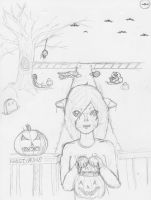 Trick or Treat wip by Chrno-Inuyashasgrl