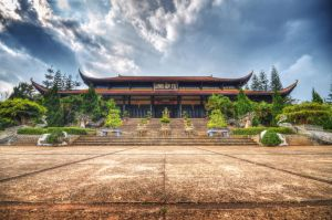 Vietnam Pagoda by comsic
