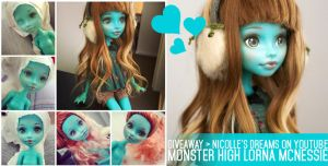 GIVEAWAY Custom MH Lorna McNessie by AndrejA