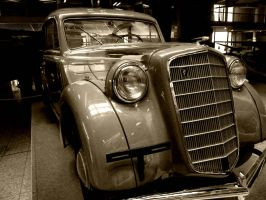 Vintage Car by JeanBlaze