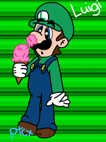 Just Luigi by paratroopaCx