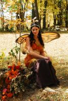 Autumn Fairy #1 by elusiveelegance