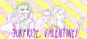 Valentine 5/8  Joker and Cecile by theterriblezodin