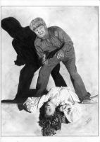 The Wolf Man 1941 Evelyn Ankers by TimGrayson