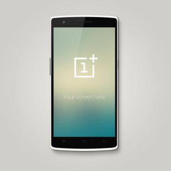 Free OnePlus One Mockup PSD by reap
