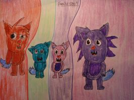 Family Shot :3 by MewMewMinto1123