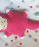 Slowpoke Commison Plush by P-isfor-Plushes