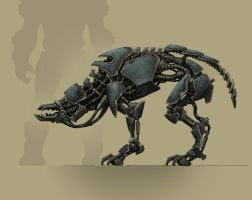 robot dog by KhezuG