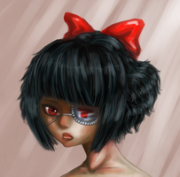 Red Bow by Sohym
