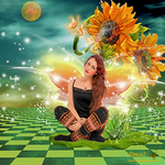 Sunflower Fairy by tinca2