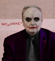 Nicolae Timofti why so serious ? by Xavier212