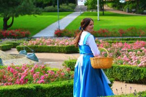 Belle Cosplay - Beauty and the beast by THfreaken