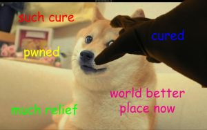 Doge Has Been Cured. by Enigma-Cat