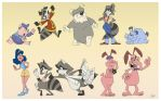 Cast of 'The Raccoons' by EastCoastCanuck